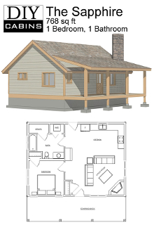 The sapphire cabin for 2 bedroom cabin with loft floor plans